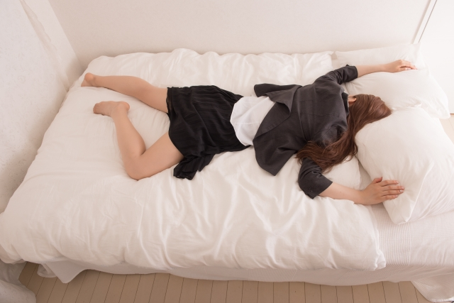 寝相とカラダの疲れの関係